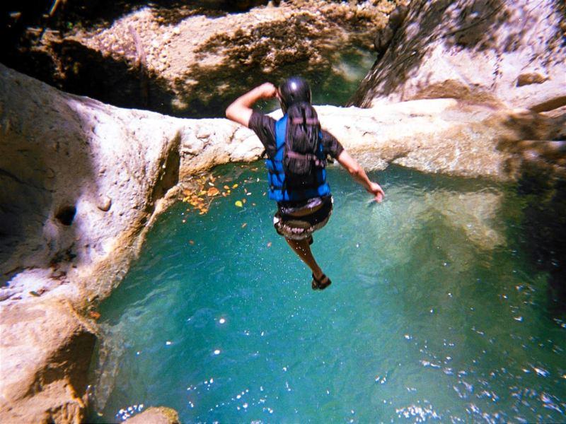 27 Wasserfälle von Damajagua