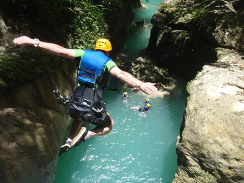 Ciguapa Wasserfälle