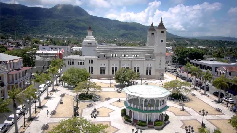 Hauptplatz von Puert Plata