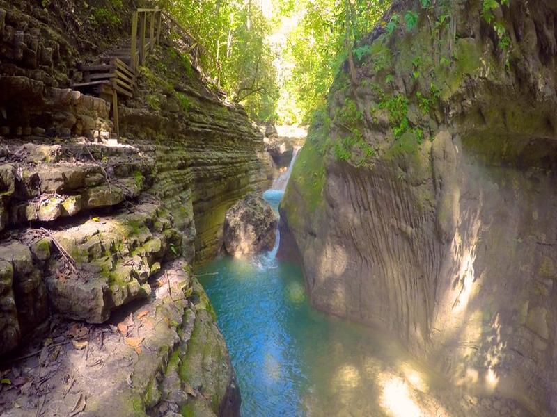 Damajagua Wasserfälle