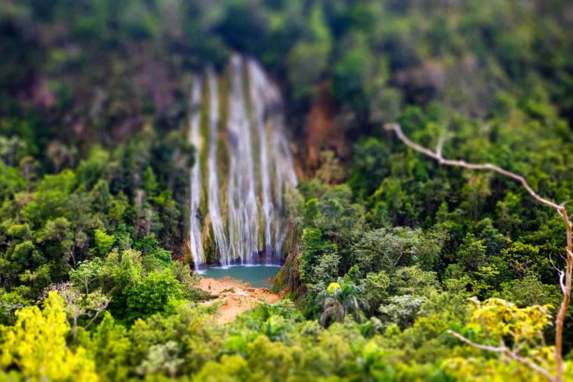 Wasserfall el Limon Samana