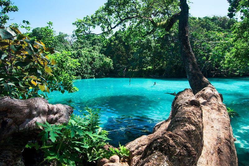 Blue Lagoon in Port Antonio