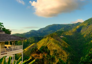 Blue Mountains in Jamaica