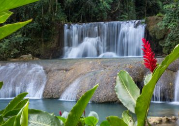 Ys Wasserfall in Jamaica
