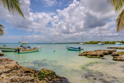 Boote in Bayahibe