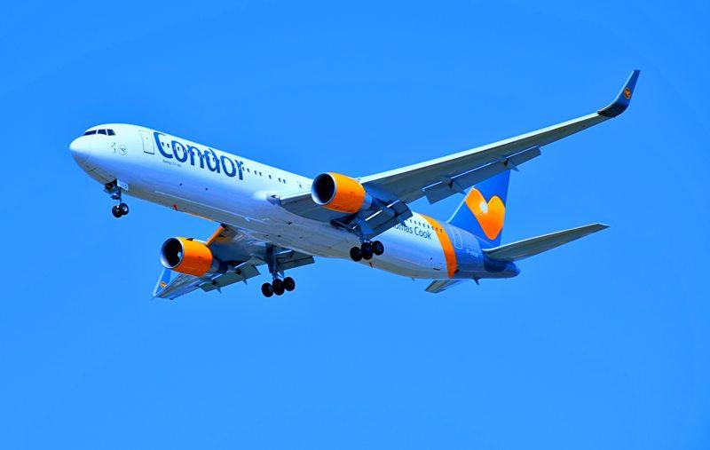 Condor Flug - Boeing 767 - Flugzeit Dominikanische Republik